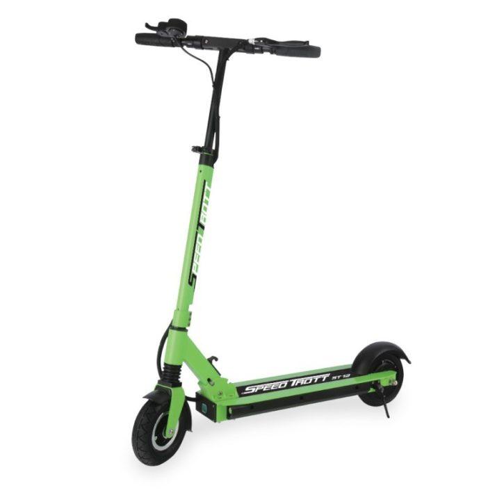 speedtrott st 12 test trottinette électrique Conclusion concurrence prix officielle vert