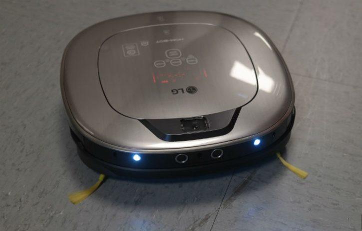 LG Hom-Bot Turbo plus utilisation lampes LED