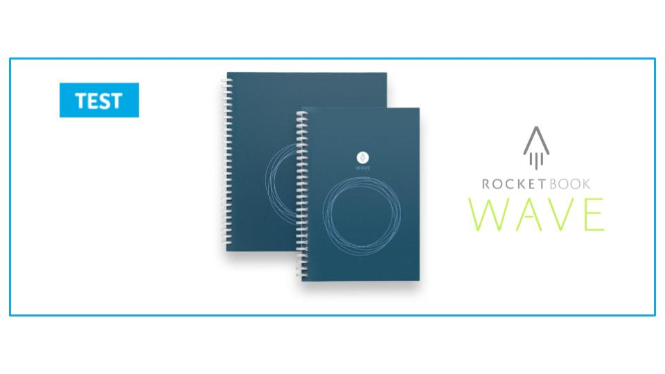 Beacon Orange, lign/é, Executive A5 Rocketbook Cahier Smart Cahier de Texte R/éutilisable