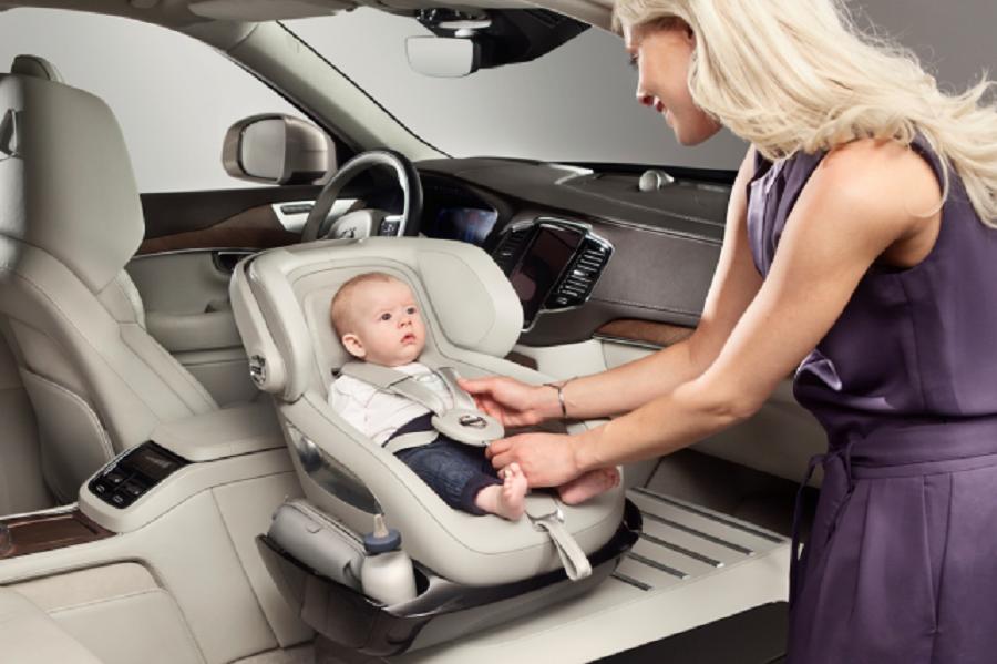 siège pour bébé connecté volvo