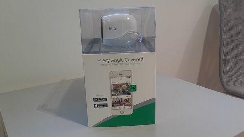 test arlo pro camera connectee unboxing gauche emballage