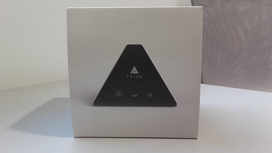 test prizm lecteur audio intelligent unboxing boite de face