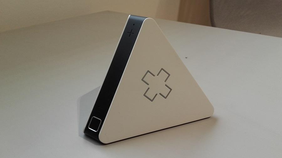 test prizm lecteur audio intelligent design ergonomie vue de gauche