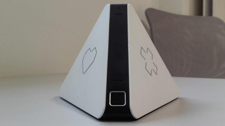 test prizm lecteur audio intelligent design ergonomie gros plan