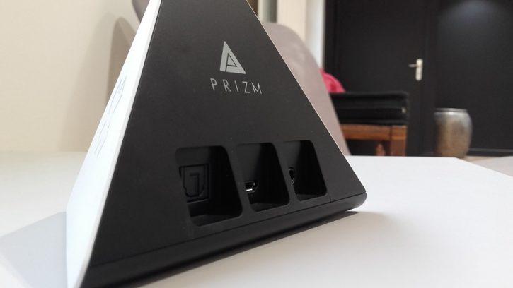 test prizm lecteur audio intelligent design ergonomie connectique