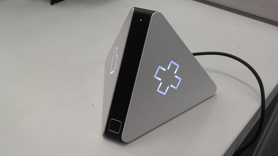test prizm lecteur audio intelligent utilisation fonctionnalites bouton croix
