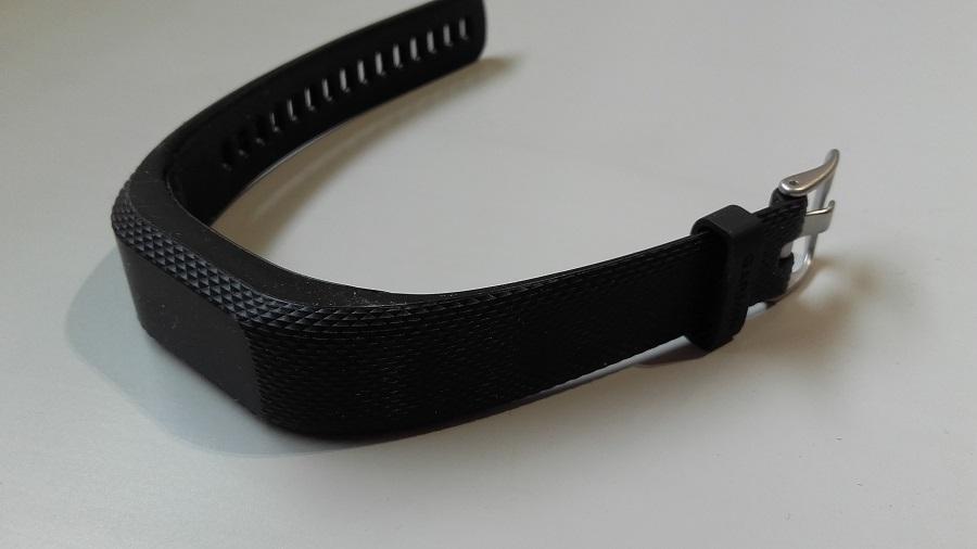 test garmin vivosmart 3 bracelet connecte design vue de haut