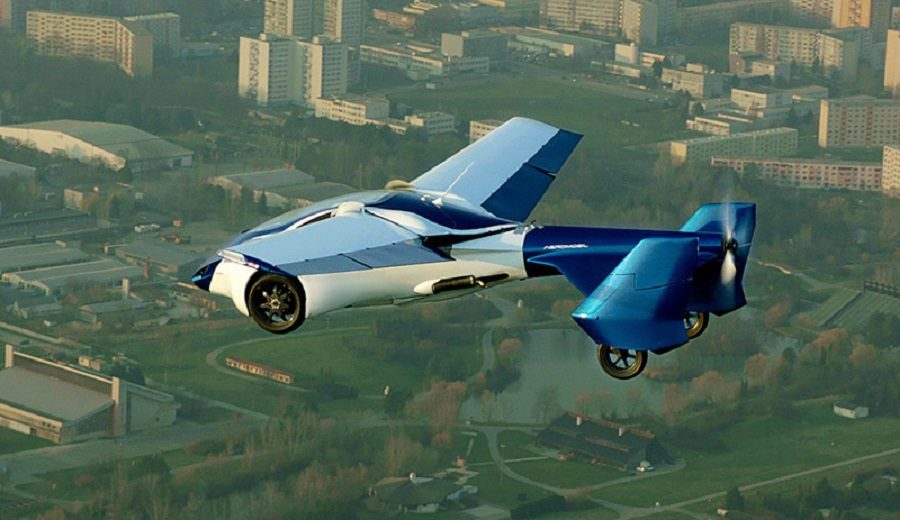 voiture volante innovation technologique