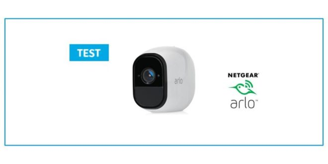 test arlo pro camera connecte netgear