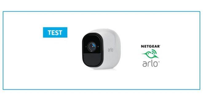 test arlo pro camera connecte netgear