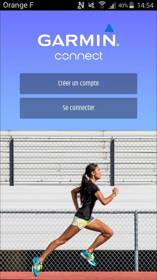 test garmin vivosmart 3 bracelet connecte application ecran accueil