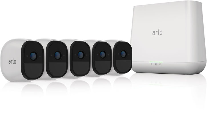 test arlo pro camera connecte officielle base station