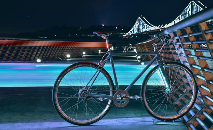 lyra vélo connecté
