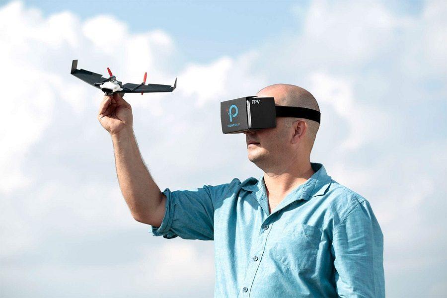 powerup drone avec réalité virtuelle