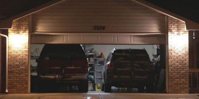 porte de garage connectée