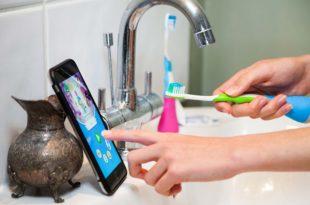 brosse à dents connectée