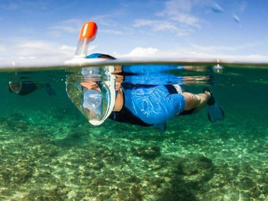 masque intégral de plongée 180° easybreath