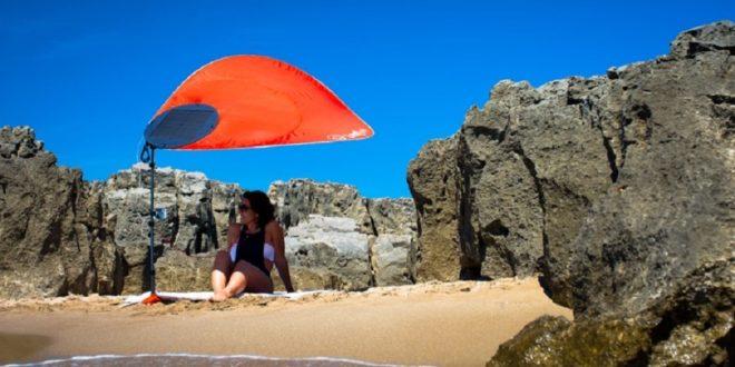 parasol connecté