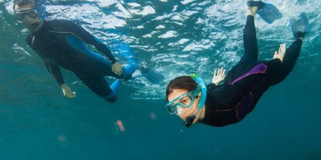 masque intégral de plongée 180°