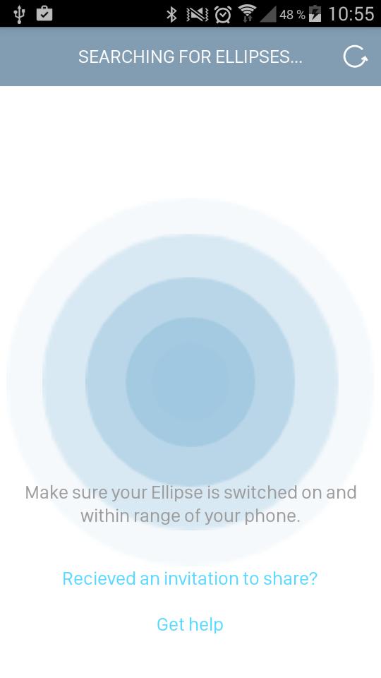 Test Ellipse cadenas connecté application téléphone