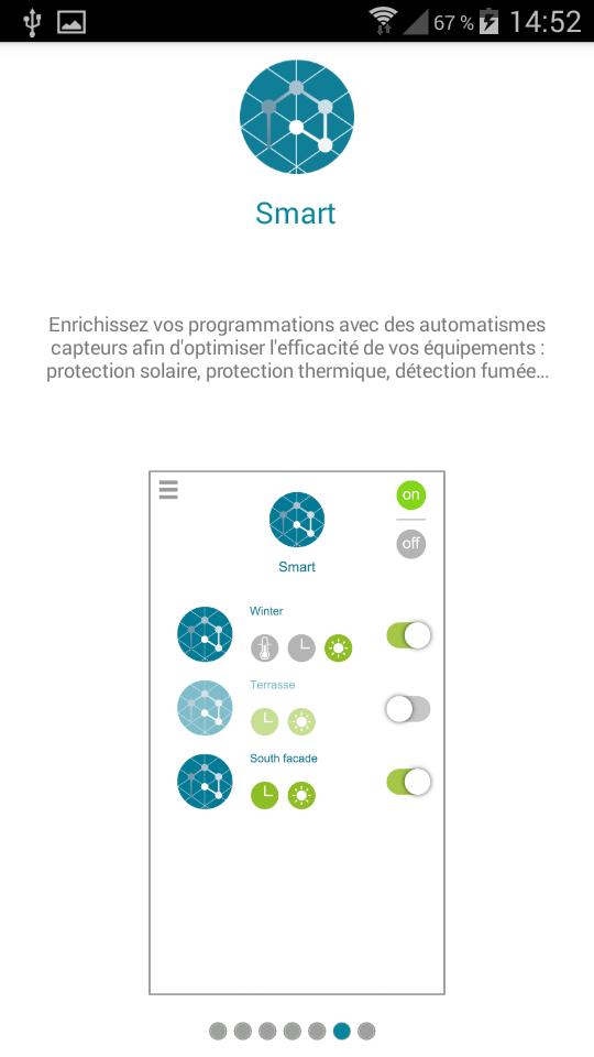 Test Ellipse Cadenas connecté application installation