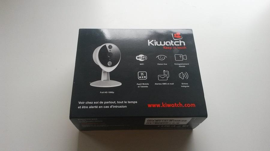 Test Kiwatch Intérieure Unboxing