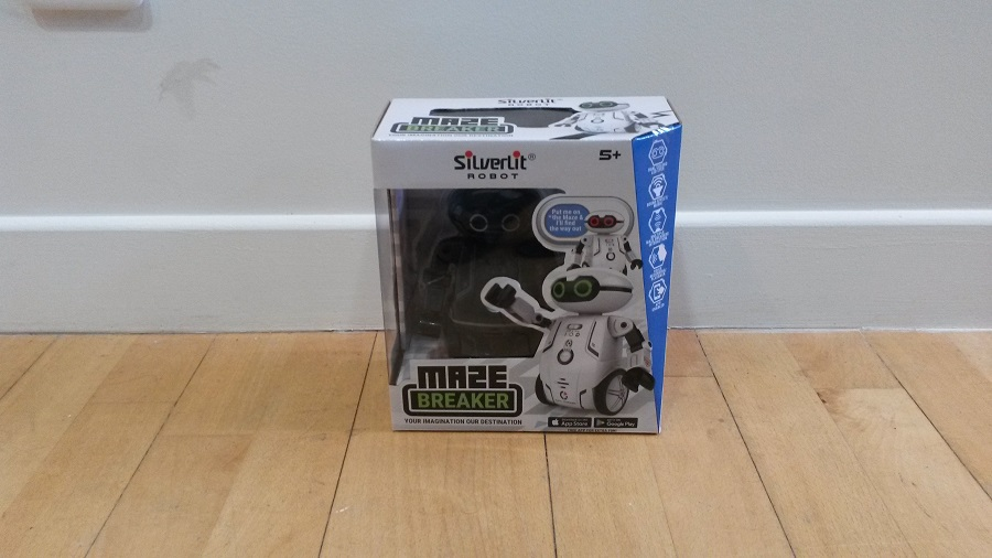 Test Maze Breaker Unboxing du robot