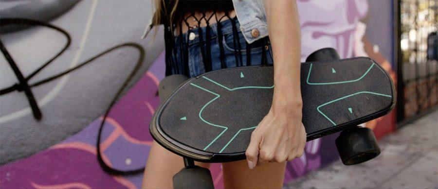 Spectra skateboard connecté