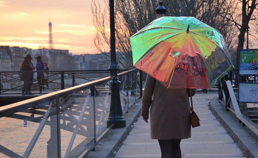 oombrella parasol connecté