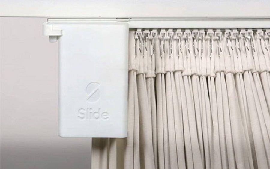 rideaux connectés slide