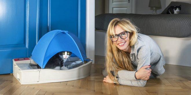 litière connectée smart kitty