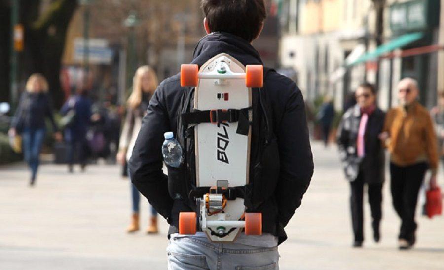 bolt skateboard connecté