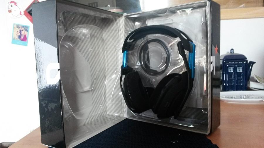 Test Astro A50 Unboxing casque et boîte ouverte