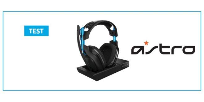 [Test] Astro A50 : le casque pro gamer