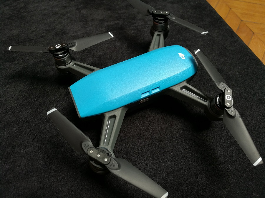 dji spark drone cote