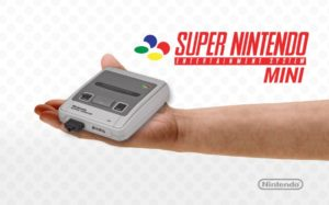 SNES mini annonce Nintendo