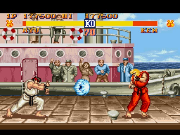 SNES mini Nintendo Street Fighter 2