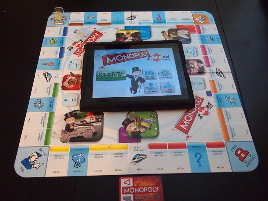 jeu de société connecté monopoly zapped