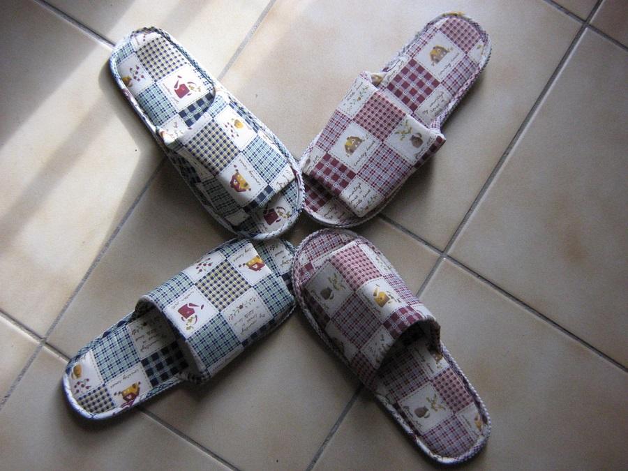 chaussons connectés