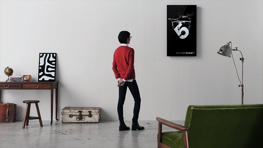 cadre photo connecté framed