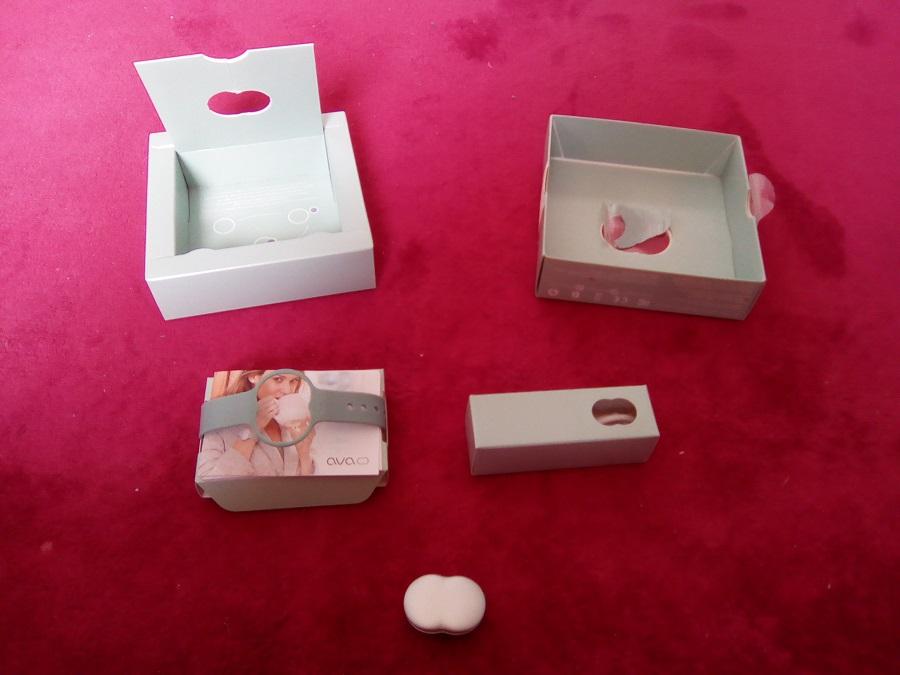 TEST Bracelet AVA Unboxing accessoires