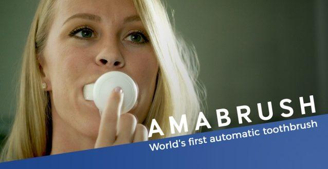 Amabrush, brosse à dents du futur