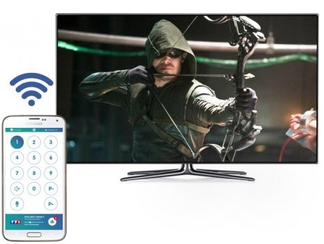 Up TV smart tv test réseau social television internet 4G
