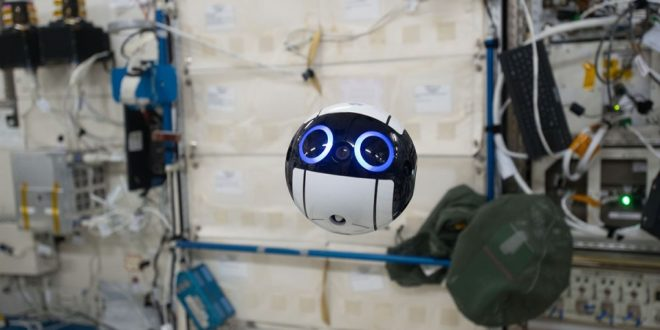 int-ball drone spatial japonais station spatiale internationale iss