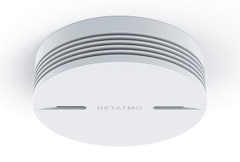 detecteur de fumée connecté netatmo smart smoke alarm