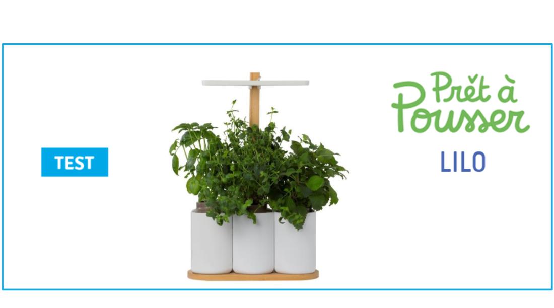 smart lilo test du potager connect qui donne des aromates toute l 39 ann e. Black Bedroom Furniture Sets. Home Design Ideas