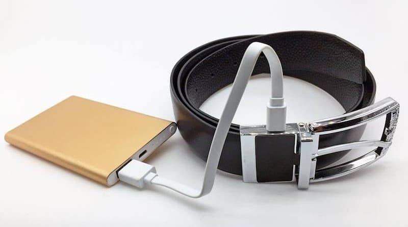 inie ceinture connectée