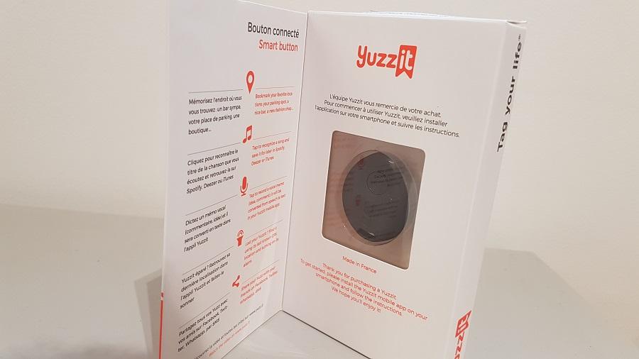 Test Yuzz-It Unboxing Boîte ouverte de face