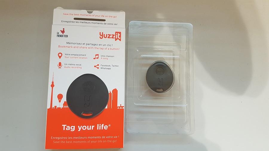 Test Yuzz-It Unboxing boite et support plastique