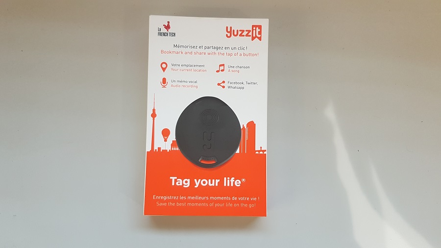 Test Yuzz-It Unboxing boîte fermée